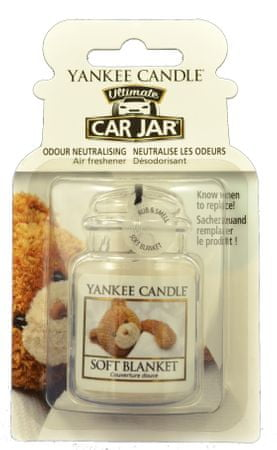 Yankee Candle dišava za avto Soft Blanket