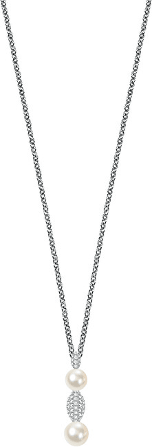 Morellato Stříbrný náhrdelník Perla SANH08 (řetízek, přívěsek) stříbro 925/1000