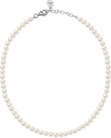 Morellato Perlový náhrdelník Perla SANH01 stříbro 925/1000