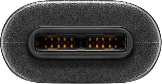 Goobay USB-C v USB A 3.0 kabel, 0.15, črn