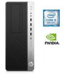 HP namizni računalnik EliteDesk 800 G4 TWR i5-8500/16GB/SSD512GB/GTX1060/W10P (4KW84EA#BED)