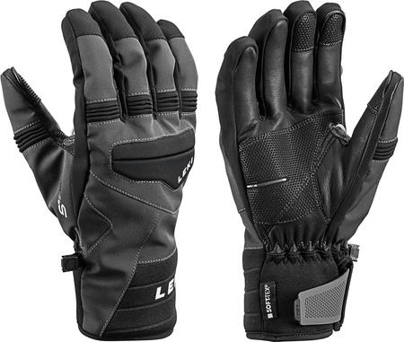 Leki moške smučarske rokavice Progressive 7 S Mf Touch, 9,5, črne