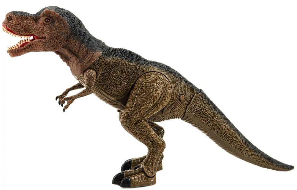 Teddies Dinosaurus chodící 40 cm se světlem a zvukem