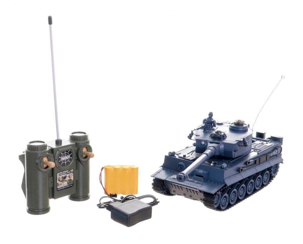Teddies Tank RC 33 cm TIGER I 40MHz se zvukem a světlem