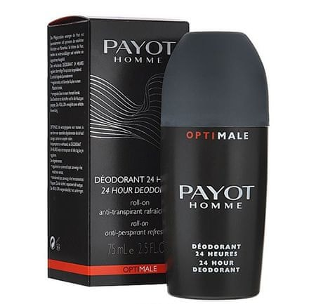 Payot Osviežujúci roll-on antiperspirant Homme Optimal (24 Hour Deodorant) 75 ml
