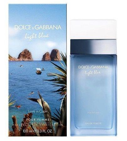 Dolce & Gabbana Light Blue Love In Capri Woman EDT 100 ml