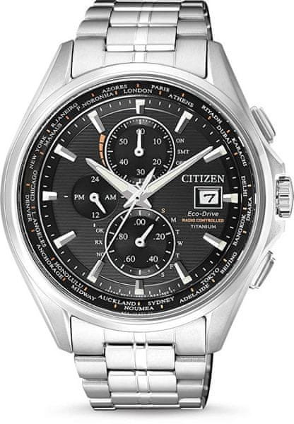 Citizen Eco-Drive Radio Controlled Super Titanium AT8130-56E