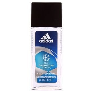 Adidas Champions League Star Edition - natural spray 75 ml