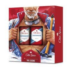 Old Spice darilni set za moške Whitewater Alpinist Dezodorant v spreju + gel za prhanje