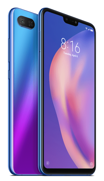Xiaomi Mi 8 Lite, 6GB/128GB, Global Version, Aurora Blue