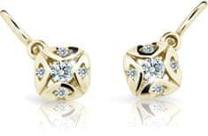 Cutie Jewellery Dětské náušnice C2250-10-X-1 zlato žluté 585/1000