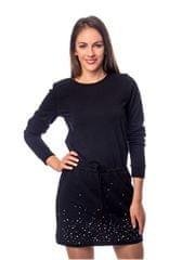 Heavy Tools Dámské šaty Velia W18-2363 Black