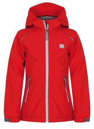 Loap lány softshell kabát Cyrus 112/116 piros