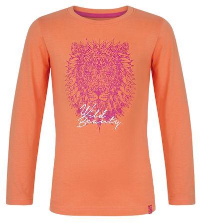 Loap Lányos póló hosszú ujjal IZIDA 112/116 narancssárga