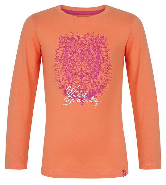 Loap dívíč tričko s dlouhým rukávem IZIDA 112 116 oranžová 7299a3c2265