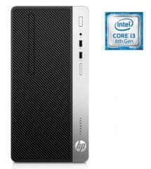 HP namizni računalnik ProDesk 400 G5 MT i3-8100/SSD256GB/8GB/W10P (4NU29EA#BED)