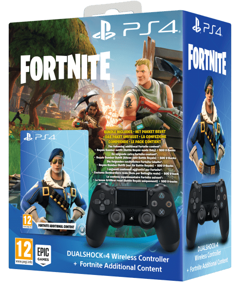 Sony PS4 DualShock 4 v2 + Fortnite