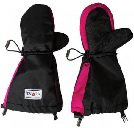 Stonz Youth Mittz Accented Pink - Black S-M (92-104 cm)
