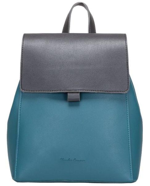 Claudia Canova dámský modrý batoh Payton 081fc5e87a