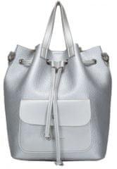 Claudia Canova dámský stříbrný batoh Kagan