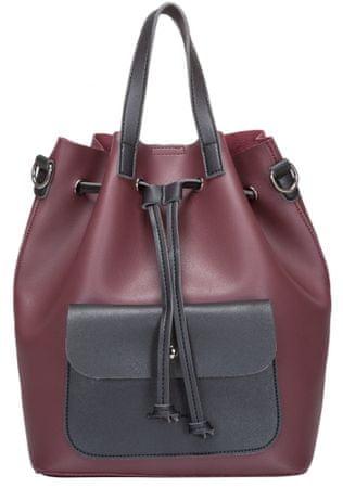 Claudia Canova dámský vínový batoh Alessia