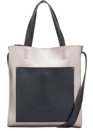 Claudia Canova ženska torbica Bettey, srebrna
