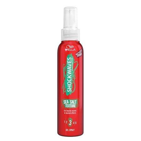 Wella Salt Hair Shockwaves dla Shockwaves ( Salt Texture Spray) Sea ( Salt Texture Spray) 150 ml