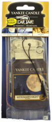Yankee Candle Papírová visačka 3 ks - Midsummer's Night, Evening Air, Leather