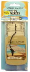 Yankee Candle Papierová visačka 3 ks - Sun&Sand, Beachwalk, Island Spa