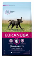 Eukanuba Puppy & Junior Large kutyatáp - 15kg