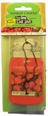 Yankee Candle Papierová visačka 3 ks - Sweet Strawberry, Black Cherry, Kiwi Berries