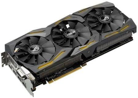 Asus karta graficzna GeForce ROG-STRIX-GTX1060-A6G-GAMING, 6GB GDDR5