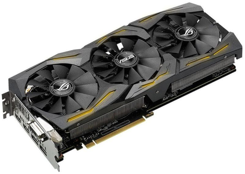 Asus GeForce ROG-STRIX-GTX1060-A6G-GAMING, 6GB GDDR5
