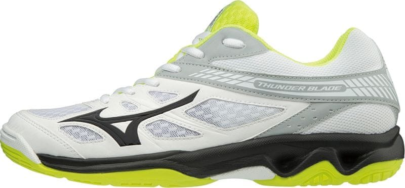 Mizuno Thunder Blade White Black Safyellow 44.0