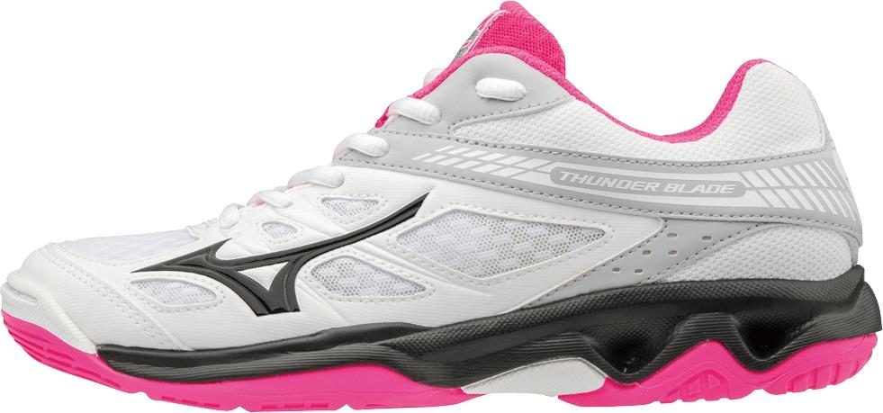 Mizuno Thunder Blade White Black Pink Glo 38.0