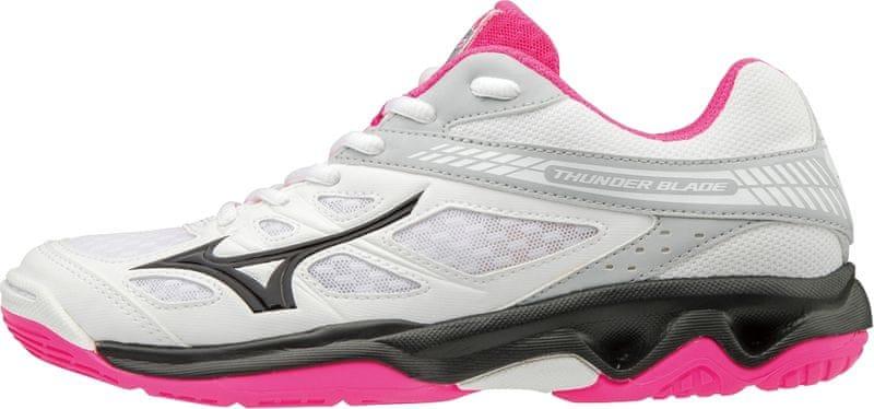 Mizuno Thunder Blade White Black Pink Glo 42.0
