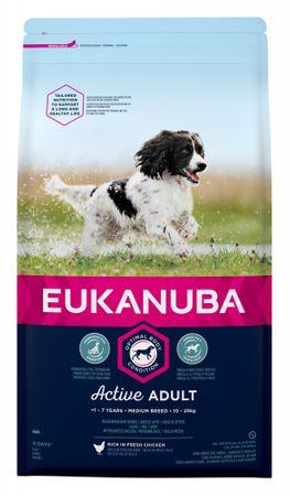 Eukanuba sucha karma dla psa Adult Medium - 15kg