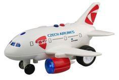MaDe Lietadlo ČSA s hlásením kapitána a letušky