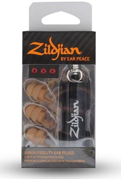 Zildjian HD Earplugs - Tan Špunty do uší
