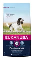 Eukanuba hrana za pse Mature & Senior Medium, 15 kg