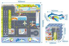 MaDe Puzzle penové - letisko