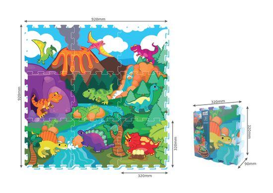 MaDe Hab puzzle - dinoszauruszok