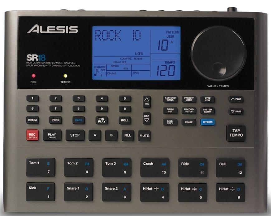 Alesis SR18 Automatický bubeník