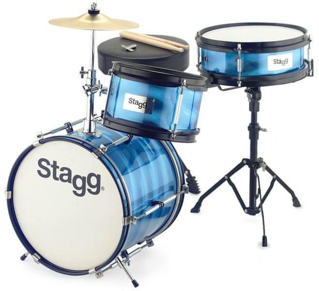 Stagg TIM JR 3/12B BL Dětská bicí souprava