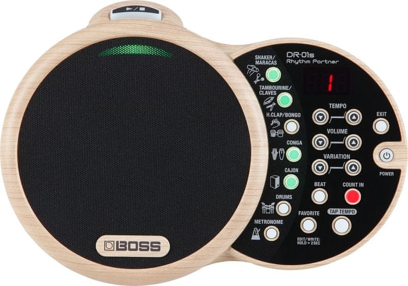 BOSS DR-01S Rhythm Partner Automatický bubeník