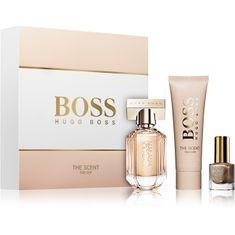 Hugo Boss Boss The Scent For Her - woda perfumowana 30 ml + mleczko do ciała 50 ml + lakier do paznokci 4,5 ml