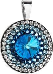 Evolution Group Překrásný stříbrný přívěsek 34207.5 bermuda blue stříbro 925/1000