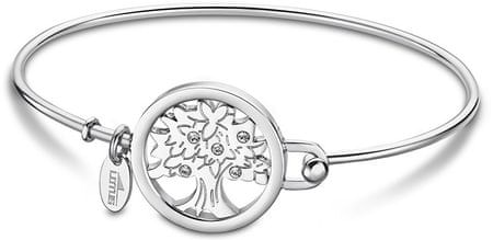 Lotus Style Solid Steel Bracelet Életfa LS2014-2 / 3