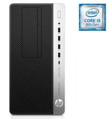 HP namizni računalnik ProDesk 600 G4 MT i5-8500/8GB/SSD256GB/W10P (4QT36AW#BED)