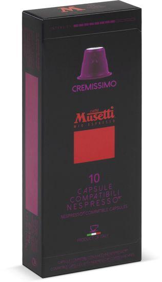 Caffé Musetti Gusto Cremissimo, balenie 10ks